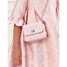 Elegancka torebka z połyskiem dla dziewczynki Abel & Lula 5437-75 róż