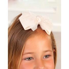 Spinka do włosów dla dziewczynki Abel & Lula 5416-32 krem
