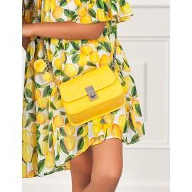 Torebka elegancka dla dziewczynki Abel & Lula 5439-83 Żółty