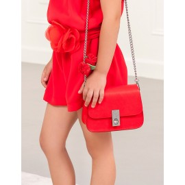 Torebka elegancka dla dziewczynki Abel & Lula 5439-85 czerwona
