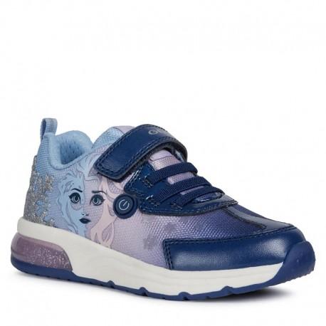 Sneakersy Geox dziewczęce fiolet J028VD-011AJ-C4215-S