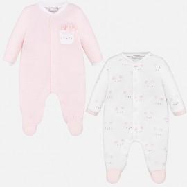 Komplet 2 piżamki długie chłopiec Mayoral 1769-33 Róż.baby