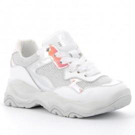 Buty sneakersy dla dziewczynki Primigi 5381111 biały