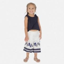 Komplet bluzka i spodnie dziewczęcy Mayoral 3548-41 Granatowy