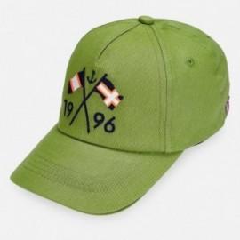 Czapka z daszkiem chłopięca Mayoral 10792-94 Zielony