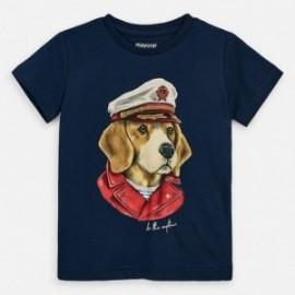 Koszulka sportowa chłopięca Mayoral 3057-30 Granatowy