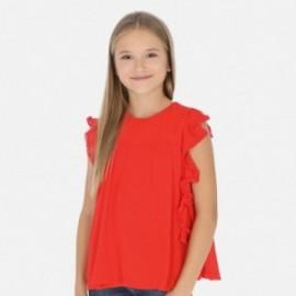 Bluzka szyfonowa dziewczęca Mayoral 6163-38 Pomarańczowy