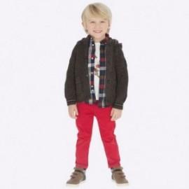Spodnie dla chłopca Mayoral 41-30 Czerwony