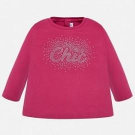 Koszulka dla dziewczynek Mayoral 116-51 Fuksja