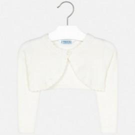 Sweter bolerko dla dziewczynki Mayoral 314-88 Kremowy