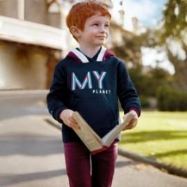 Spodnie slim fit chłopięce Mayoral 517-11 Bordowy