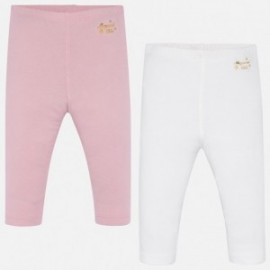 Komplet getrów basic dla dziewczynek Mayoral 702-21 Różowy