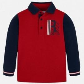 Koszulka polo dla chłopców Mayoral 4111-29 Czerwony