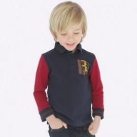 Koszulka polo dla chłopców Mayoral 4111-27 Szary