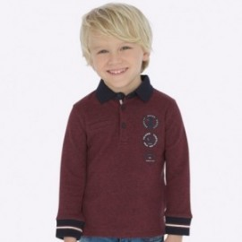 Koszulka polo dla chłopców Mayoral 4115-30 Bordowy