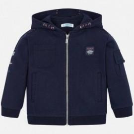Bluza z kapturem chłopięca Mayoral 4457-41 Granatowy
