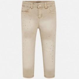 Spodnie cieniowane dziewczęce Mayoral 4503-38 Beżowy