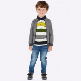 Spodnie jeansowe slim fit chłopięce Mayoral 4508-22 Jeans