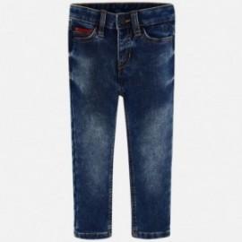 Spodnie jeans chłopięce Mayoral 4524-23 Ciemny