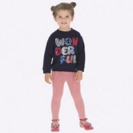 Leginsy pepitka dla dziewczynki Mayoral 4706-69 Czerwony