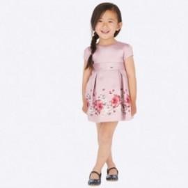Sukienka z połyskiem dla dziewczynki Mayoral 4922-81 Różowy