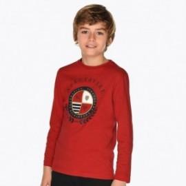 Koszulka z długim rękawem chłopięca Mayoral 7036-15 Czerwony