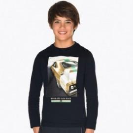Koszulka z długim rękawem chłopięca Mayoral 7041-93 Granatowy