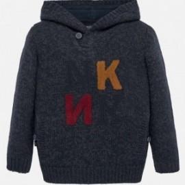 Sweter z kapturem chłopięcy Mayoral 7311-69 Granatowy
