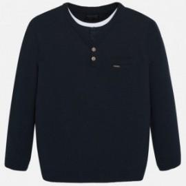 Sweter podwójny chłopięcy Mayoral 7312-16 Granatowy