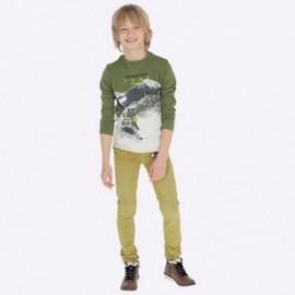 Spodnie dla chłopca Mayoral 7517-69 Oliwkowy