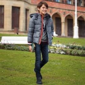 Spodnie jeans slim fit chłopięce Mayoral 7520-66 Granatowy