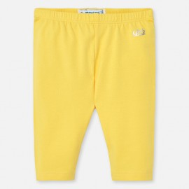 Leginsy basic krótkie dziewczynka Mayoral 706-19 Żółty