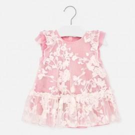 Sukienka tiulowa dla dziewczynki Mayoral 1910-16 Różowy
