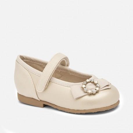 Buty eleganckie baleriny dziewczęce Mayoral 41148-80 złoty