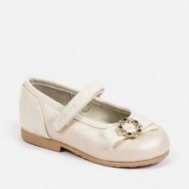 Buty eleganckie baleriny dziewczęce Mayoral 41148-79 Perłowy