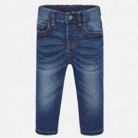 Spodnie jeans klasyczne basic chłopiec Mayoral 503-82 granat