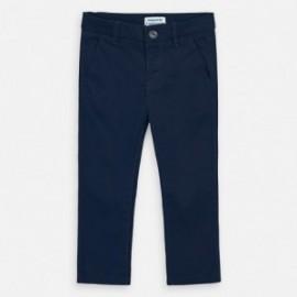 Spodnie eleganckie dla chłopca Mayoral 512-62 Granat