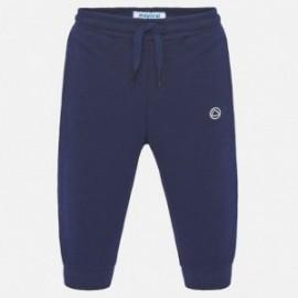 Długie spodnie sportowe dla chłopca Mayoral 711-95 granat