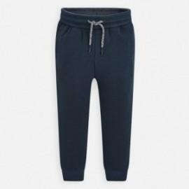 Długie spodnie sportowe dla chłopca Mayoral 742-24 popiel