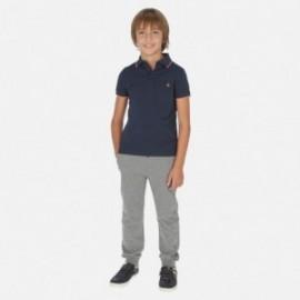 Długie spodnie sportowe dla chłopca Mayoral 744-33 szare