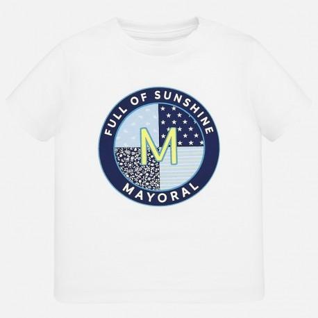 Koszulka sportowa dla chłopca Mayoral 1041-15 Biały