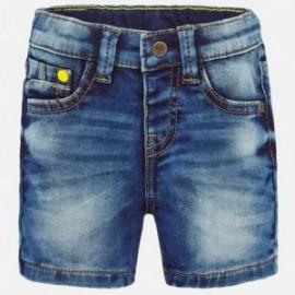 Bermudy jeansowe dla chłopca Mayoral 1285-89 niebieskie