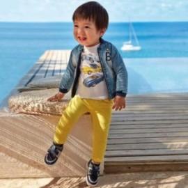 Spodnie ze ściągaczami dla chłopców Mayoral 1547-67 Żółty