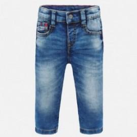 Spodnie jeans dla chłopca Mayoral 1552-81 niebieskie