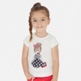 Komplet koszulek dla dziewczynki Mayoral 3004-10 Granatowy