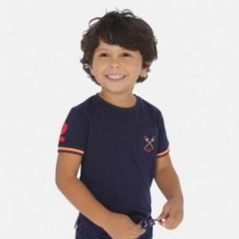 Koszulka sportowa dla chłopców Mayoral 3058-23 granat