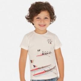 Koszulka sportowa dla chłopców Mayoral 3060-39 biały
