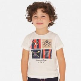 Koszulka sportowa dla chłopców Mayoral 3061-39 biały