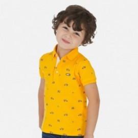 Koszulka polo sportowa dla chłopców Mayoral 3147-33 pomarańcz