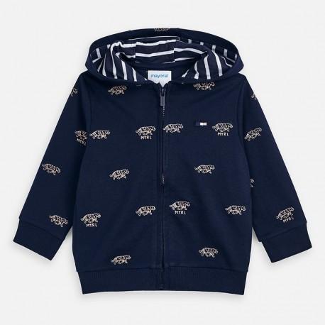 Bluza z nadrukiem chłopięca Mayoral 3446-11 Granatowy